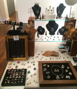 Gallardo & Blaine Jewellery table