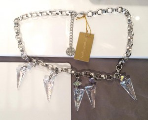 Nadia Minkoff Crystal Shard Statement Necklace