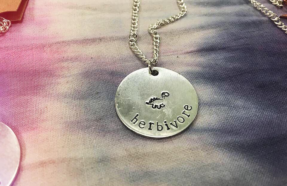 Love Libby X herbivore necklace