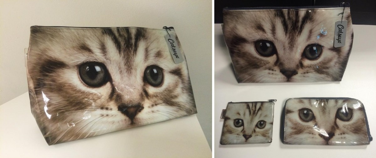 Catseye: Kitten Washbag