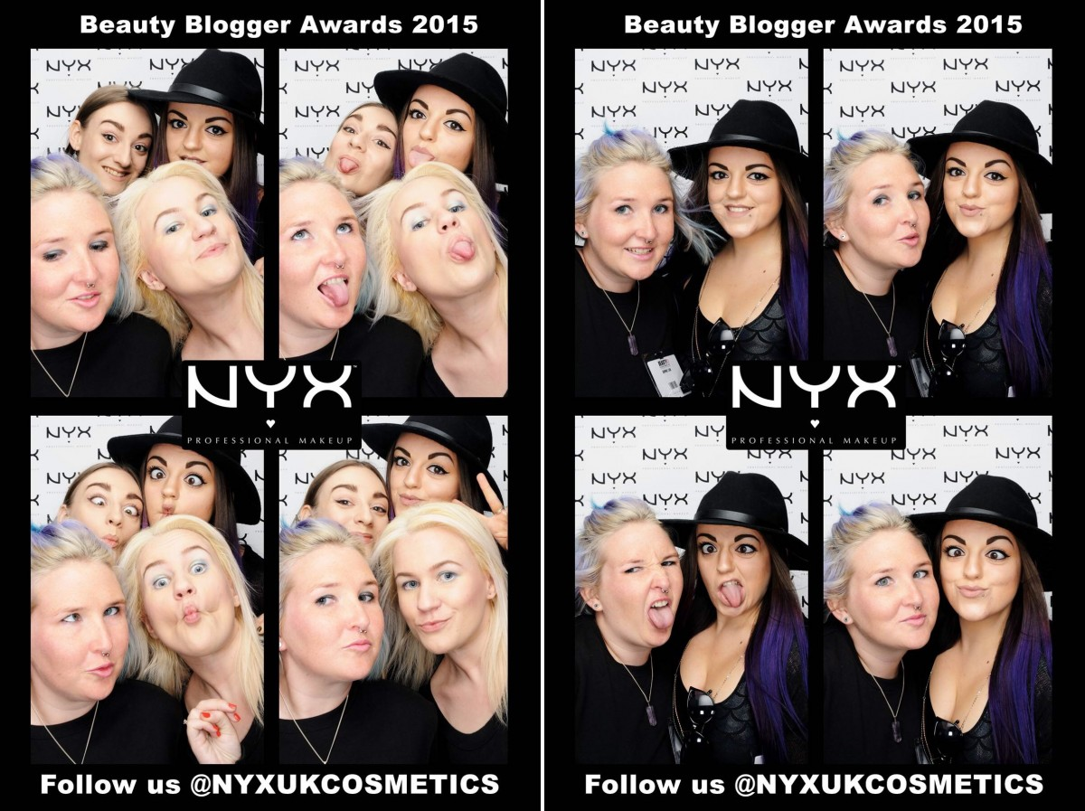 NYX Photobooth fun at the Olympia Beauty Exhibition!