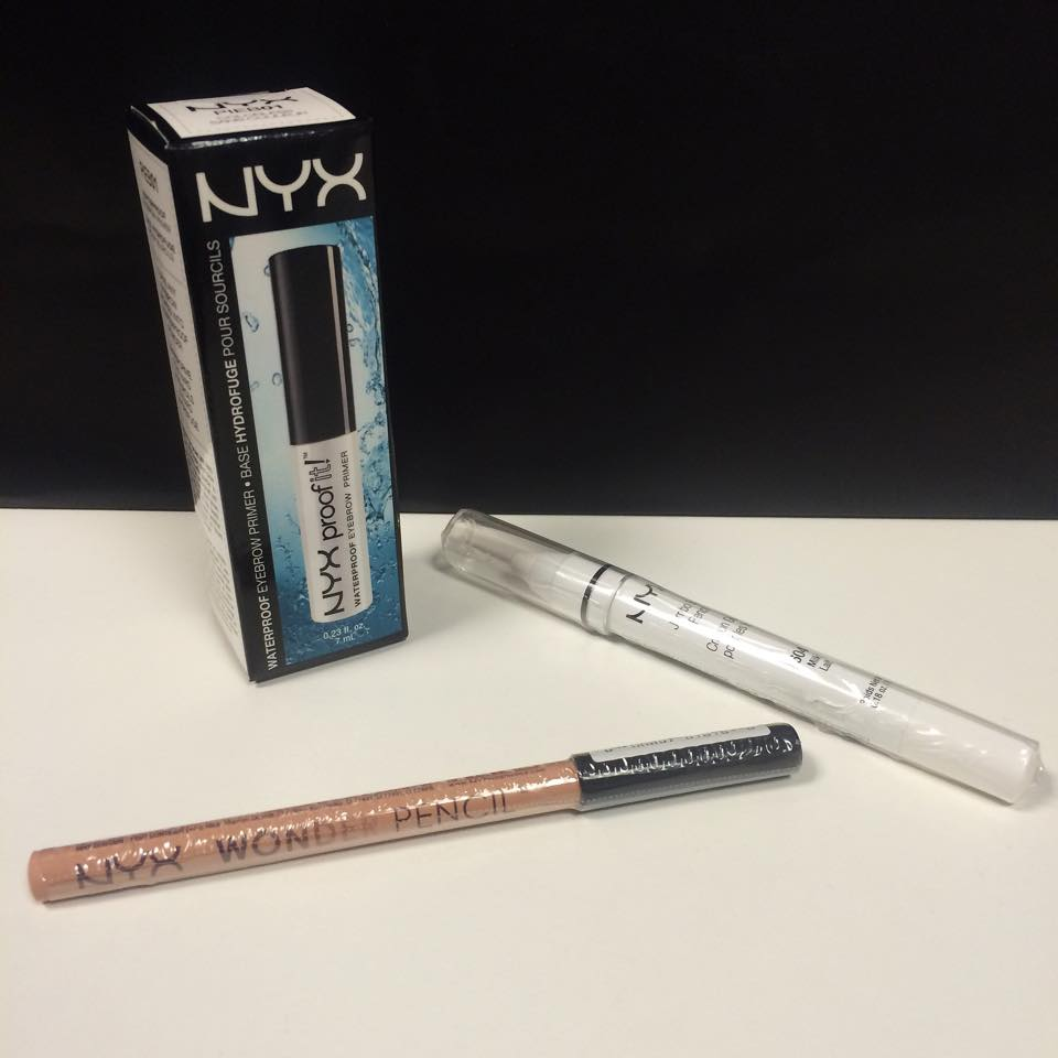 NYX: items I bought