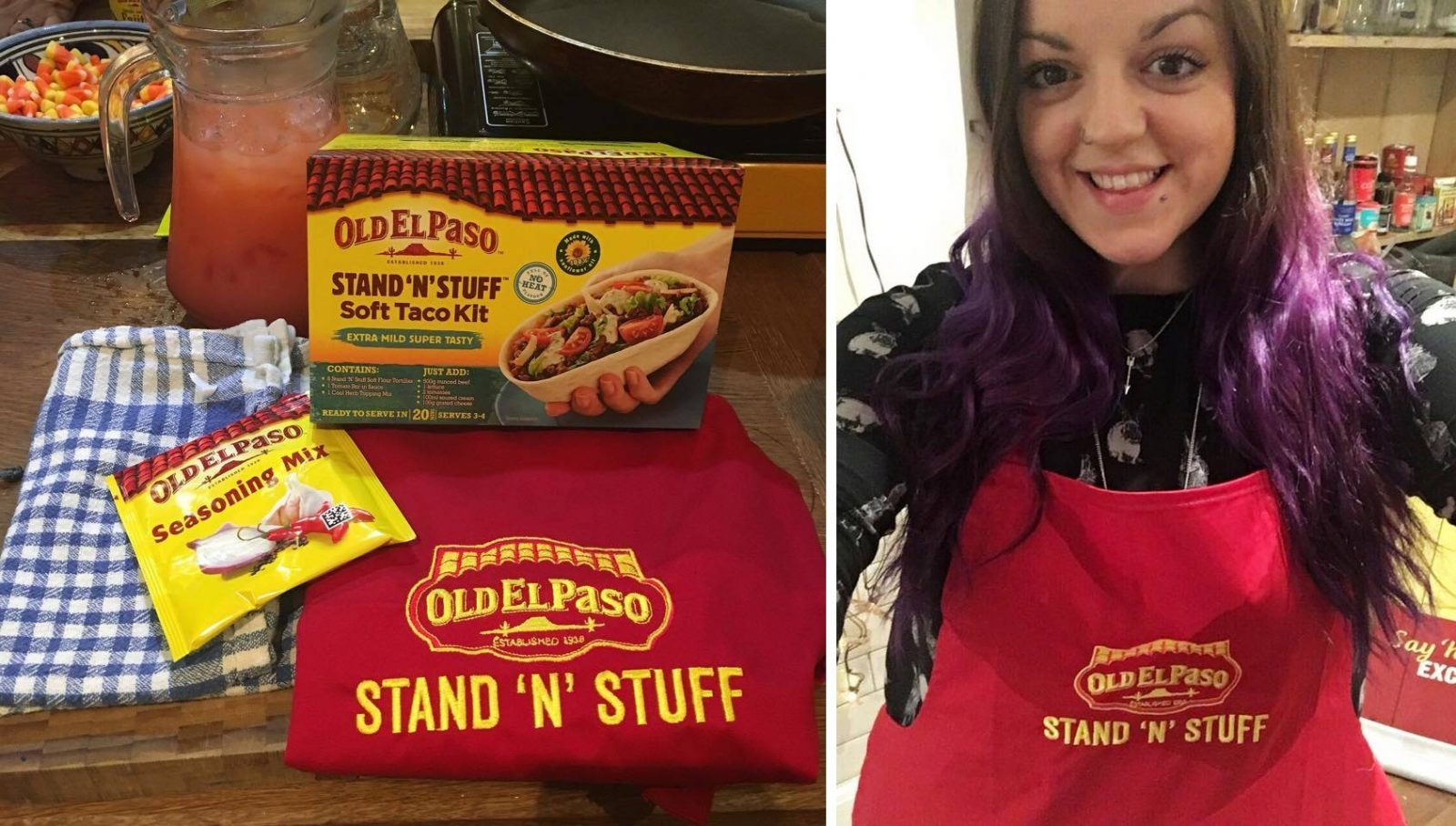 Old El Paso Stand N Stuff Apron