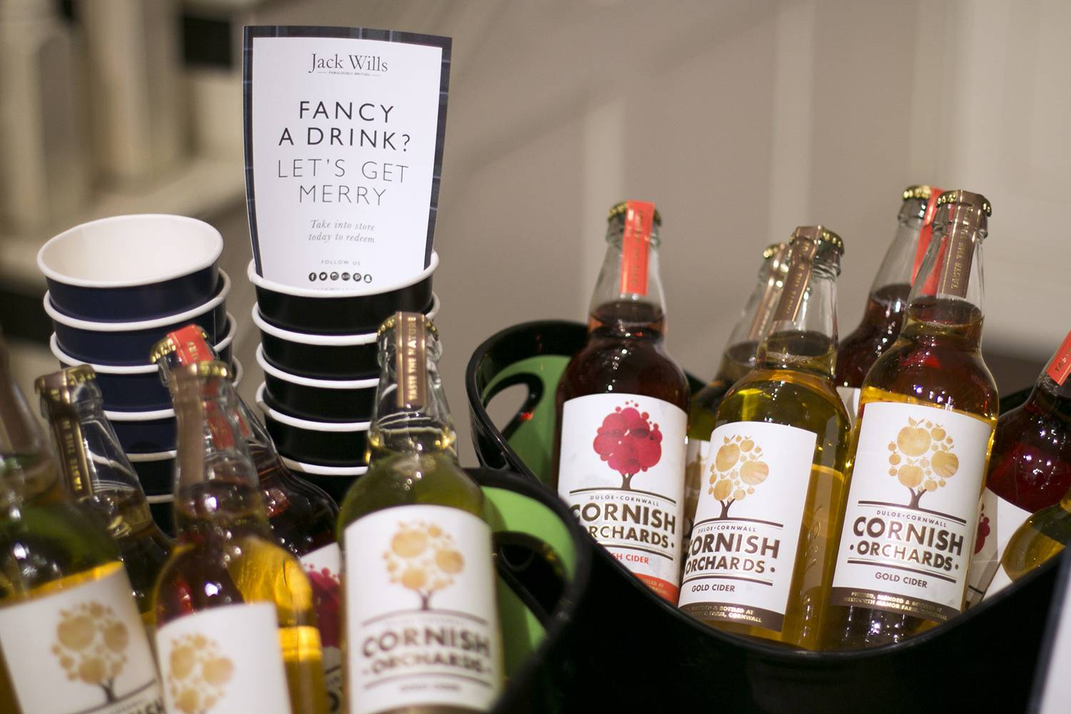 Jack Wills Belfast #cidersessions (Photo courtesy of Jack Wills Social Media Team)