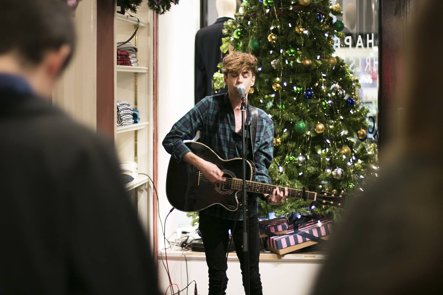 Jack Wills Belfast #CiderSessions Matt DeFreitas (photo thanks to Jack Wills Social Media team)