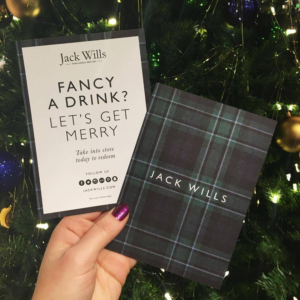 Jack Wills Cider Session Let's Get Merry
