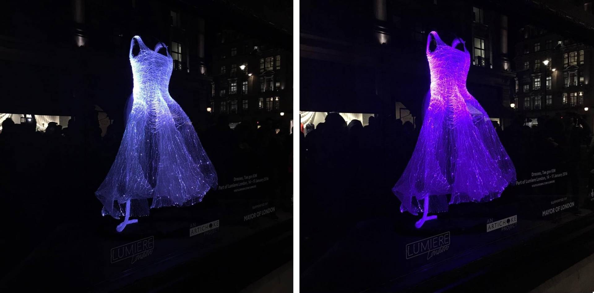 Dresses, Tae gon KIM @ Great Malbourough Street, for Lumiere London