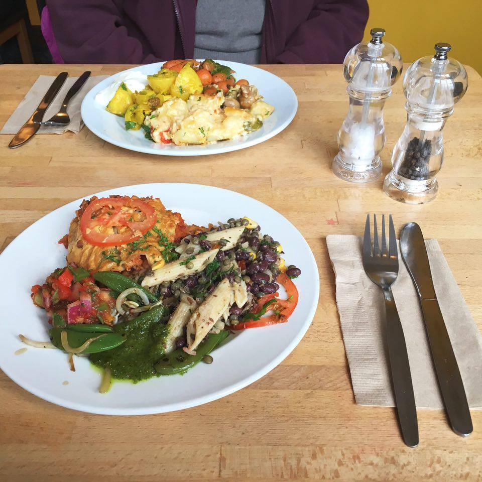 Vegetarian & Vegan meals @ Iydea, Hove