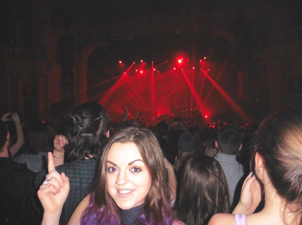 My face watching 'Panic! At The Disco' crowd @ O2 Academy Brixton