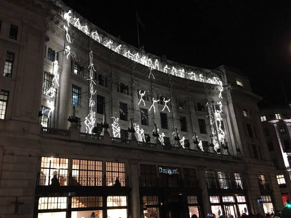 Keyframe, Groupe LAPS / Thomas Veyssière @ Regent Street, for Lumiere London