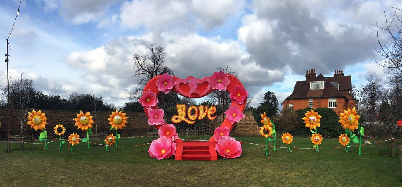 'Love' lights up London for the Magical Lantern Festival @ Chiswick House & Gardens