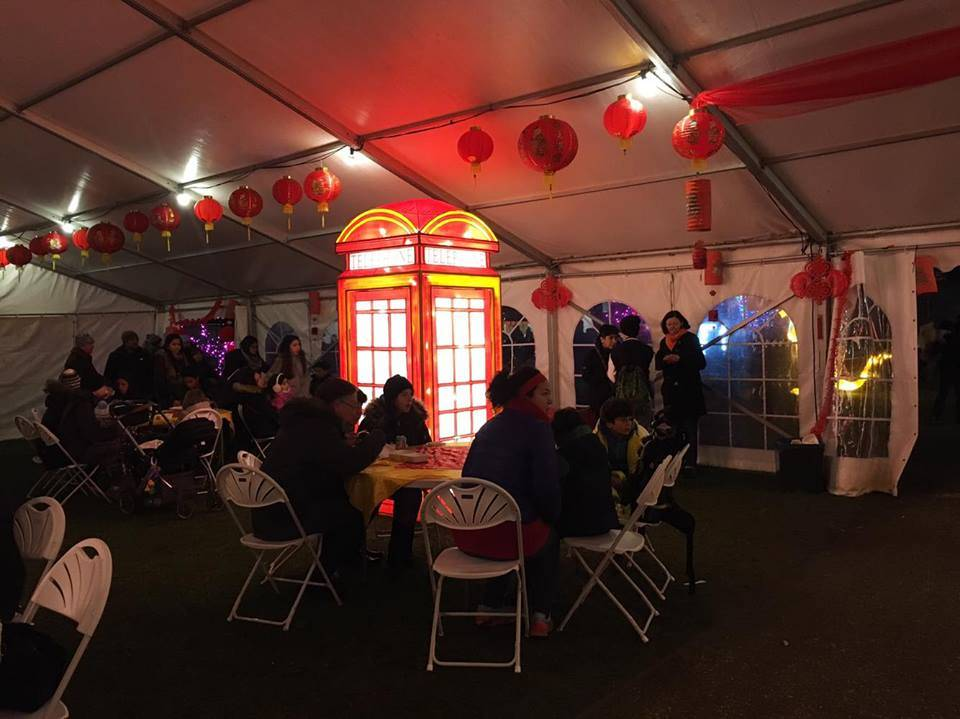 Bar Area, Magical Lantern Festival @ Chiswick House & Gardens