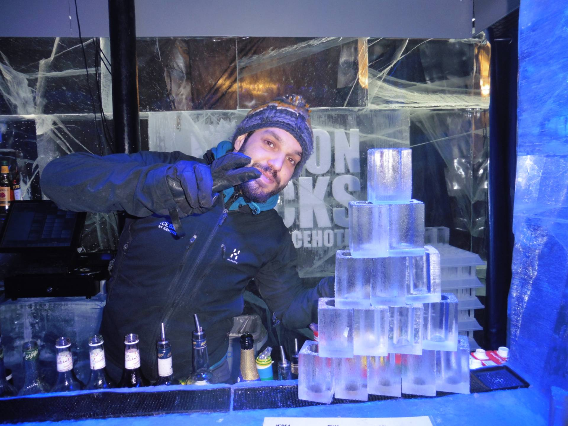 The Bar Man @ Ice Bar, London