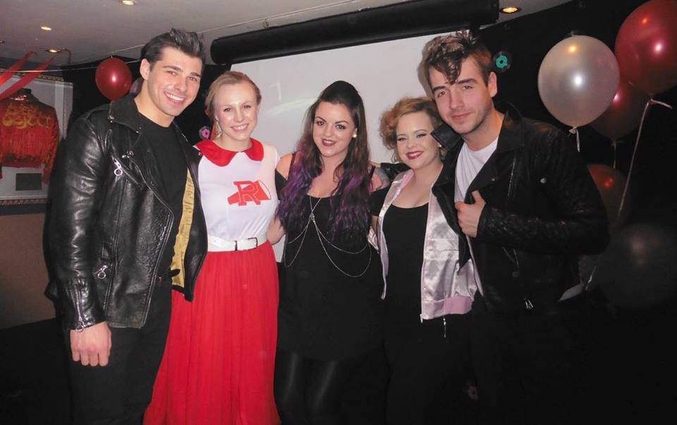 Grease cast & I @ POP Picturehouse, Hard Rock Cafe, London