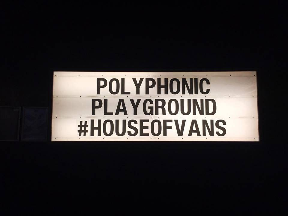 Polyphonic Playground @ House of Vans, London