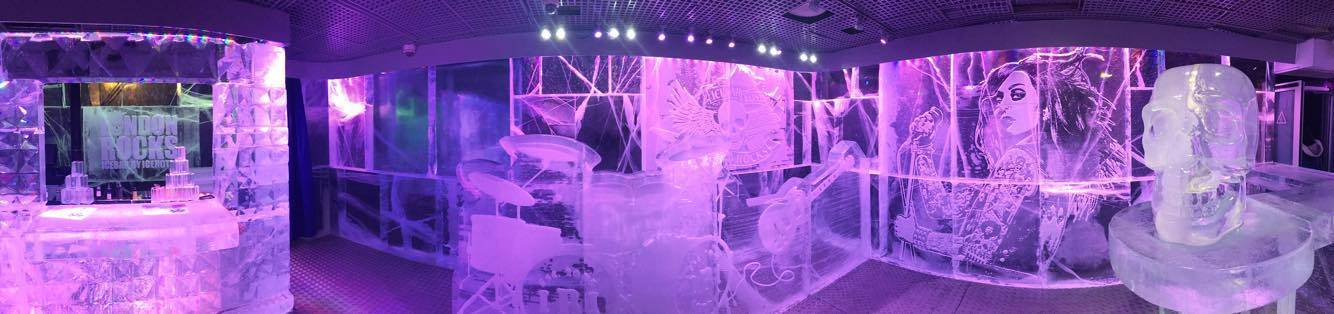 Panorama @ the Ice Bar, London