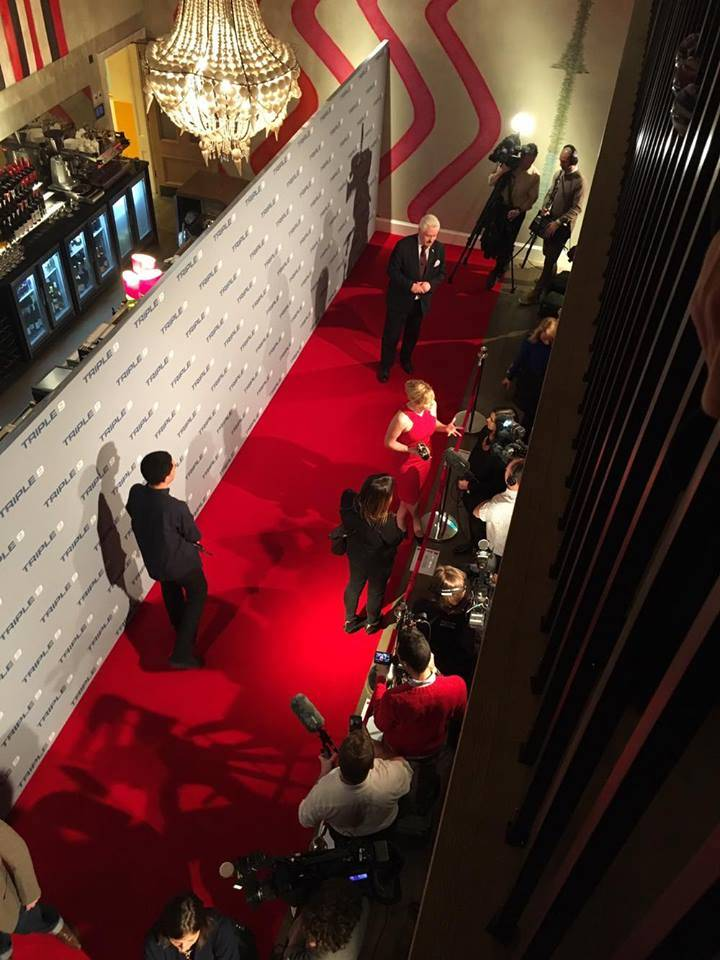Kate Winslet on the Rad Carpet at the Ham Yard Hotel, for the Triple 9 Movie UK Gala Screening