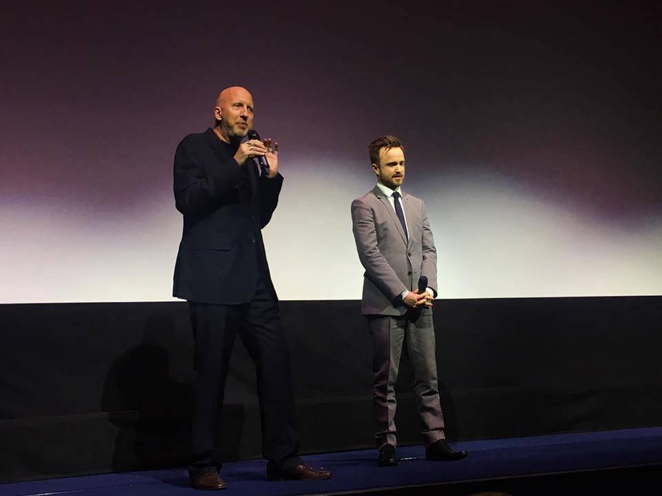 John Hillcoat (Director) and Aaron Paul