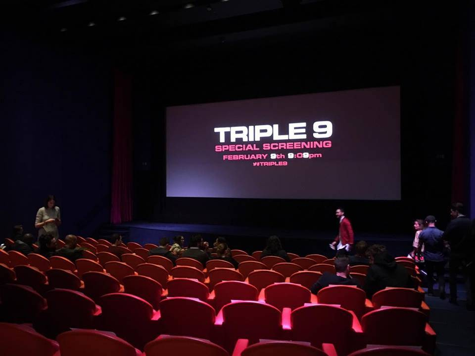 Triple 9 Movie Ham Yard Hotel Cinema UK Gala Screening