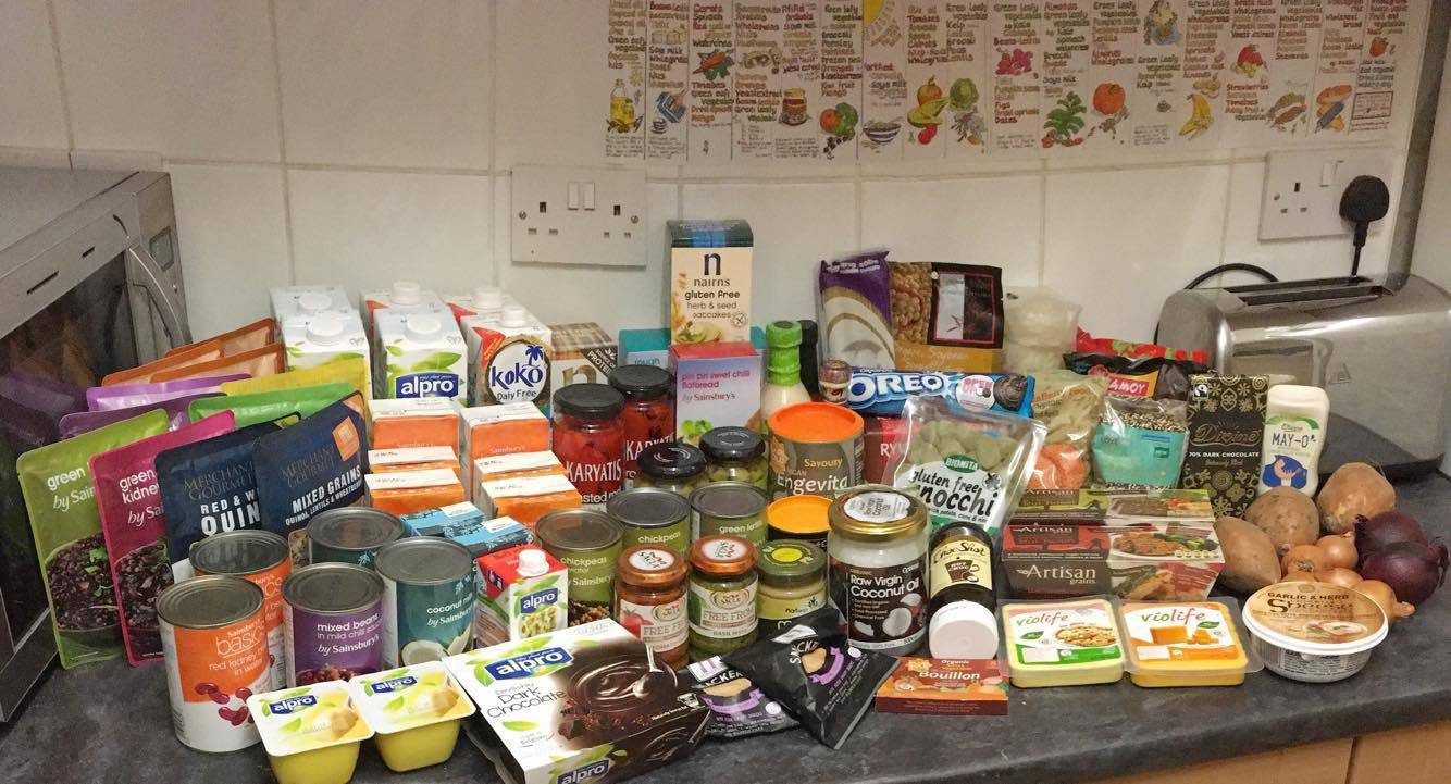 My first Vegan food shop for Veganuary