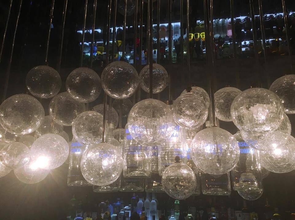 Absolut Bottles & Lightbulbs @ Ice Bar, London