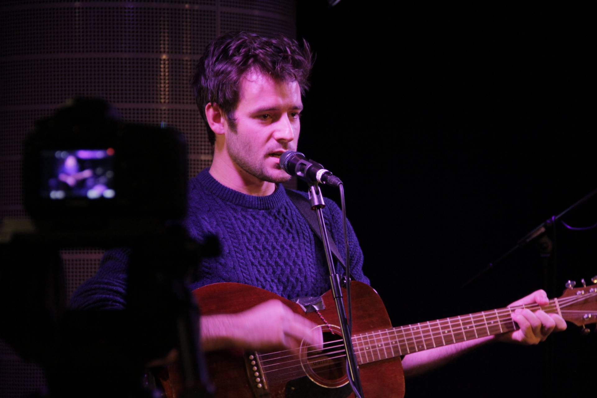 Roo Panes performing at Secret Sessions @ the Hospital Club, London