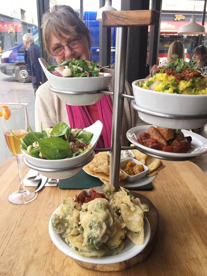'Stanmer' (Modern European) Tapas dishes @ rootcandi, Brighton (ft. my lovely little mum!)