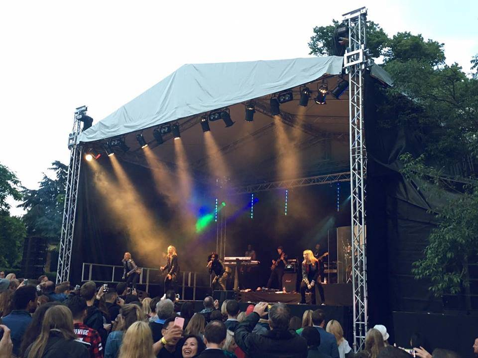 All Saints performing @ Summer Sessions, Chiswick House & Gardens