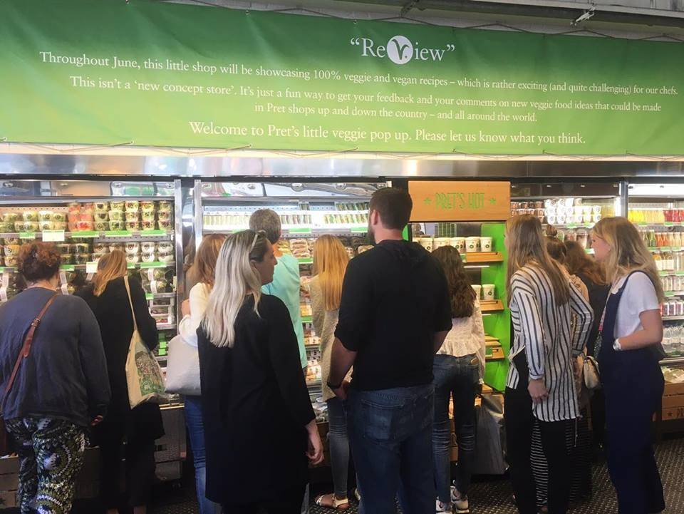 Veggie Pret Vegan Food Broadwick Street Soho London