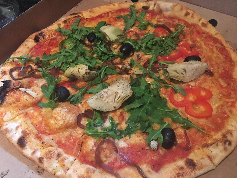 The Clerkenwell Pizza (Vegan) from Wedge Issue Pizza