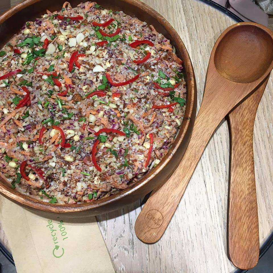 Hemp Tabbouleh @ Rawligion, London