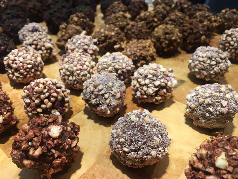 Raw Chocolate 'Rochers' @ Rawligion, London
