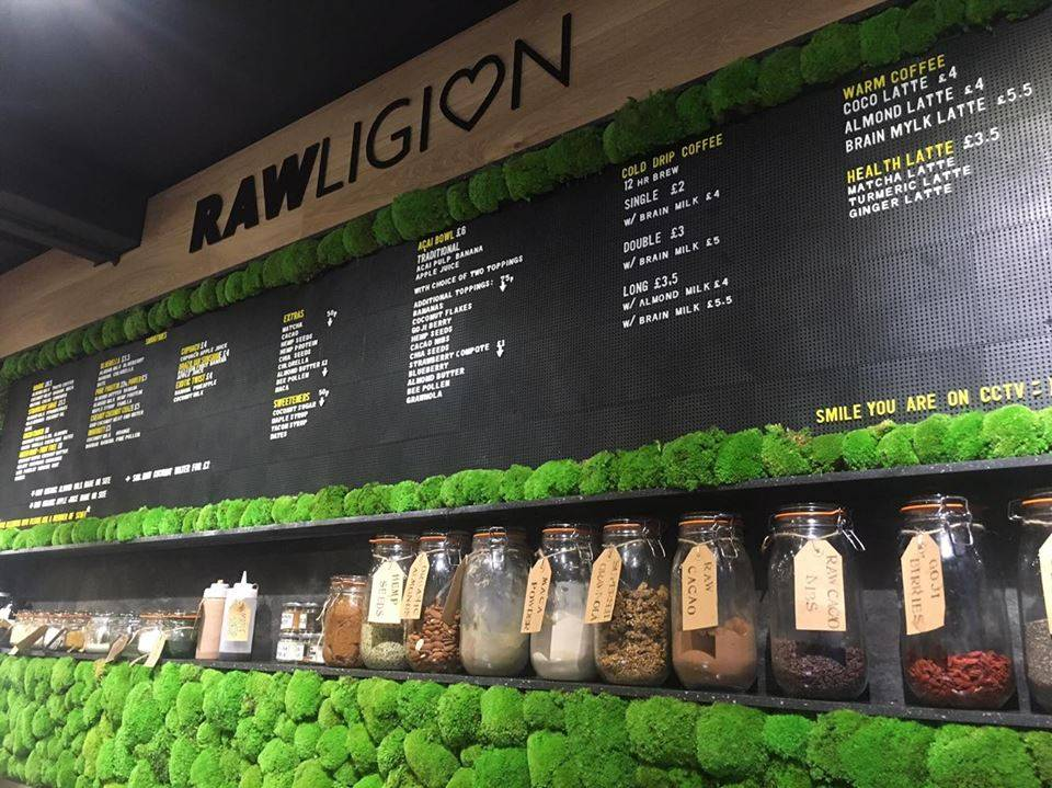 Rawligion, London