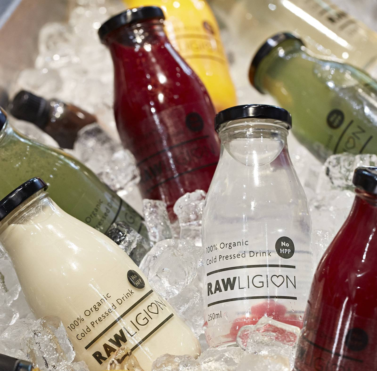 Premium Botanicals & Juices @ Rawligion, London (photo from: http://www.rawligion.co.uk/)