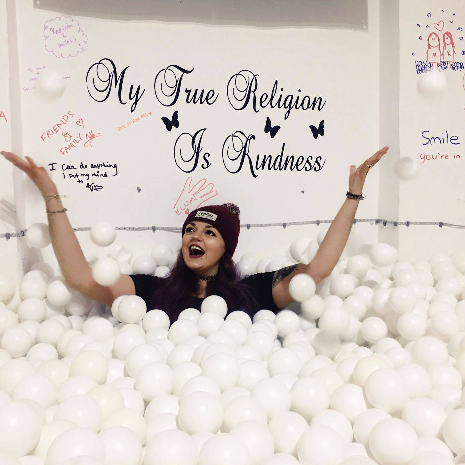 White Ball Pool Museum of Happiness