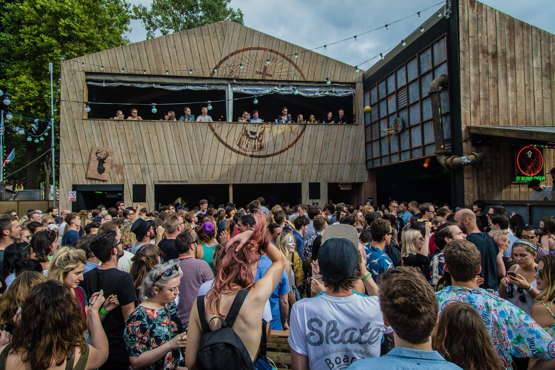 Bestival Jagerhaus Lovebox