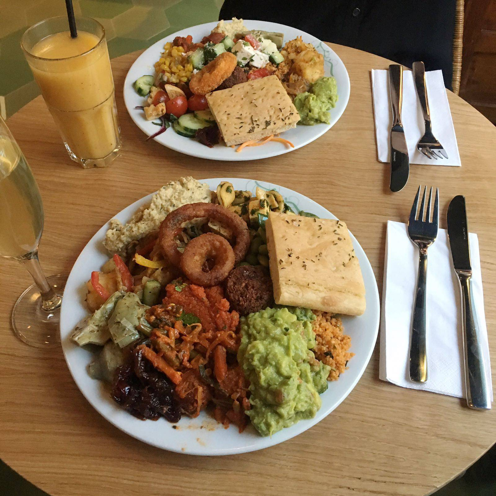 Tibits Bankside London Vegan Veggie Vegetarian Buffet