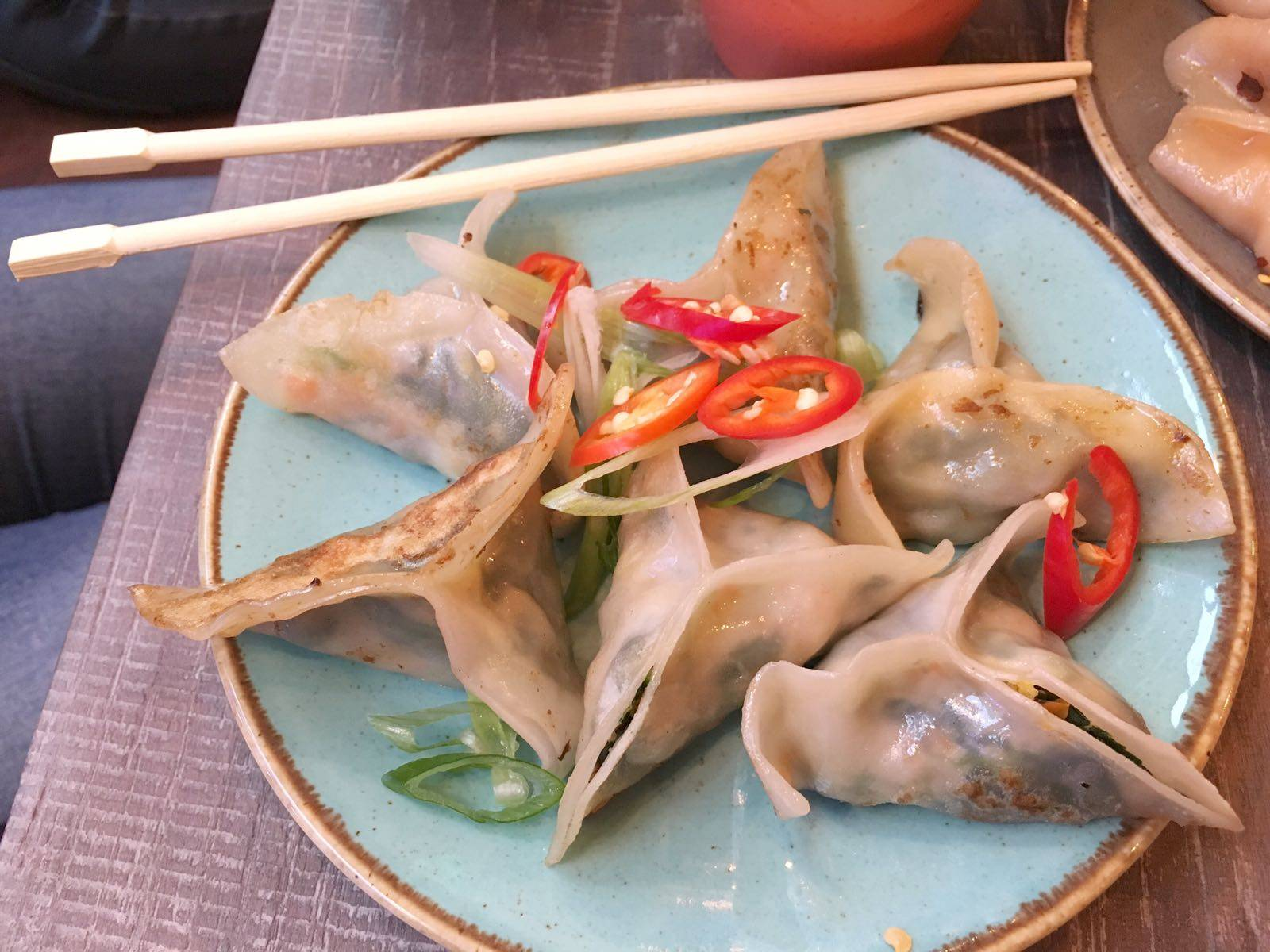 Ugly Dumpling Vegan Carnaby Street London