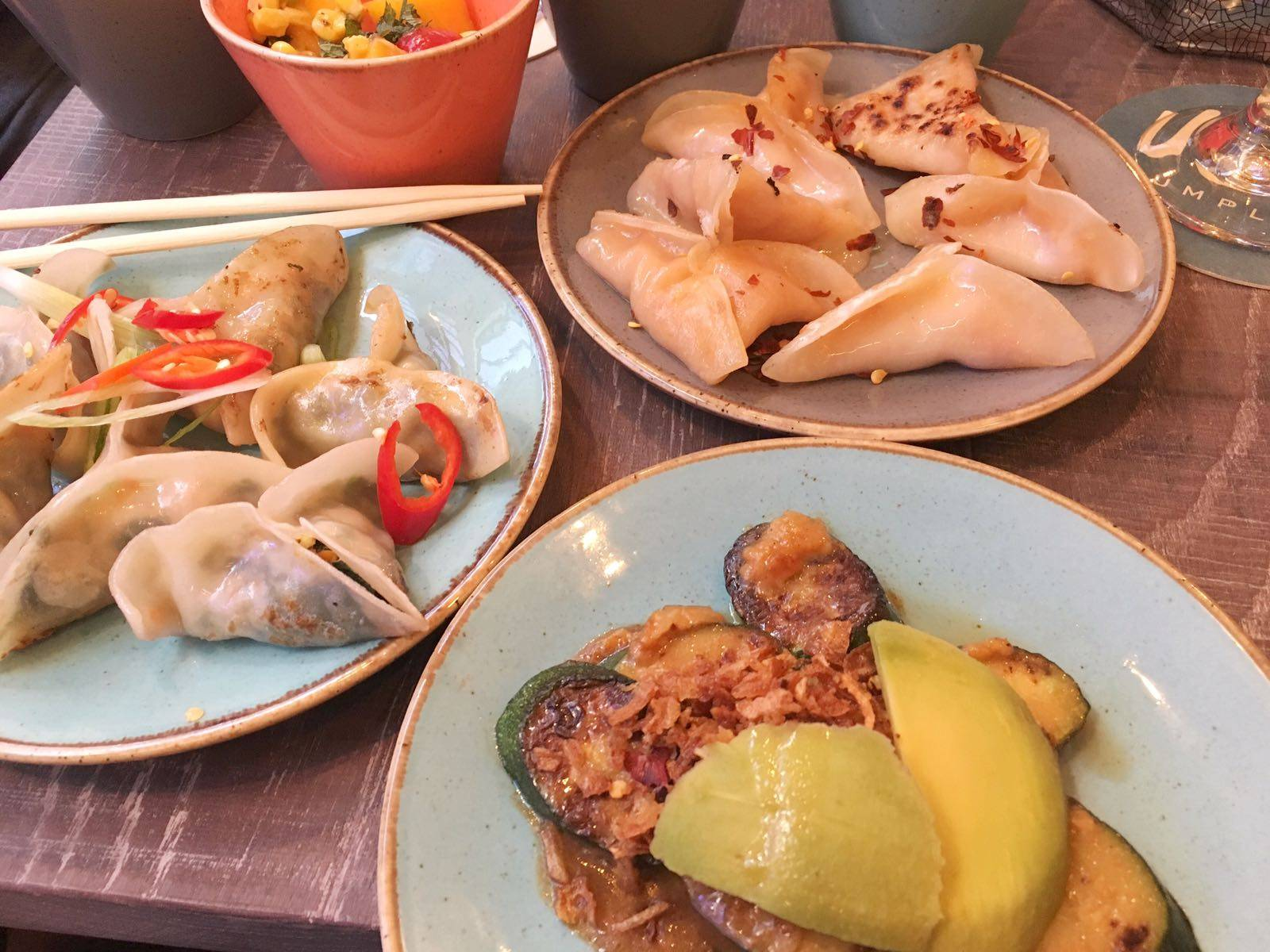 Ugly Dumpling Vegan Carnaby Street London