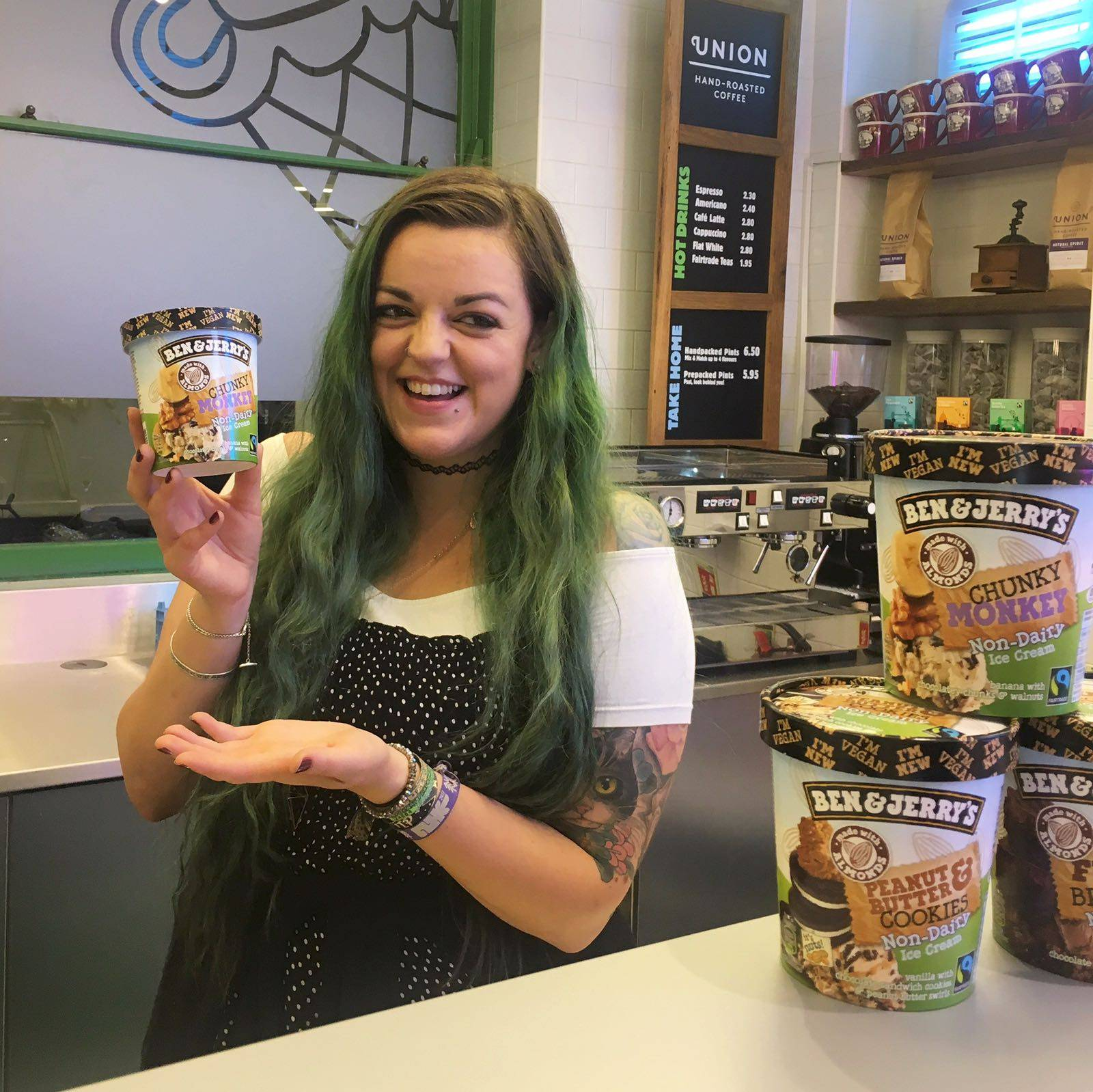 Vegan Ben & Jerry's Non-Dairy Ice Cream UK Launch