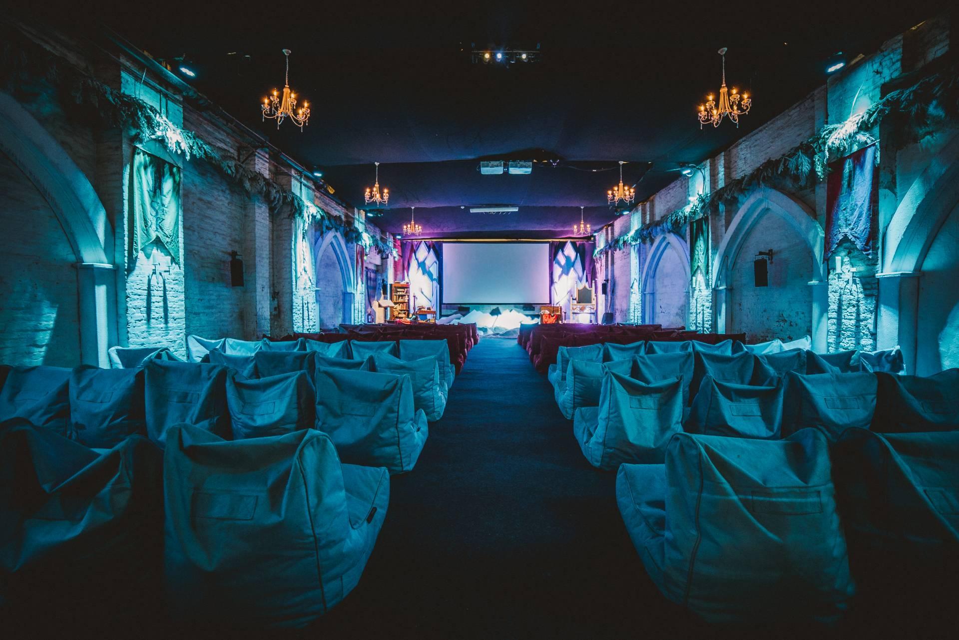 Backyard Cinema Snow Kingdom