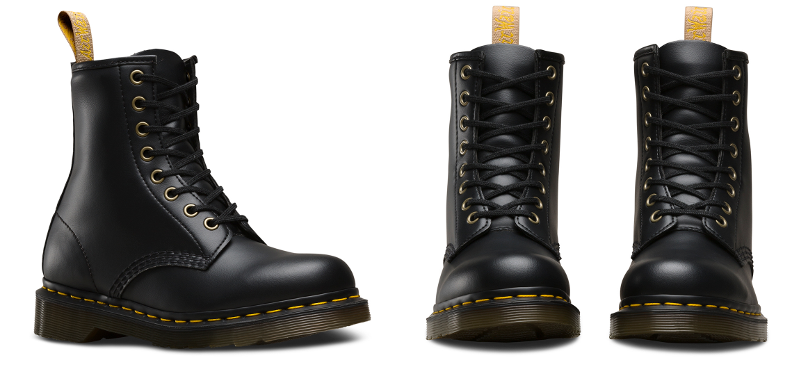 Vegan BLACK FELIX RUB OFF Dr. Martens