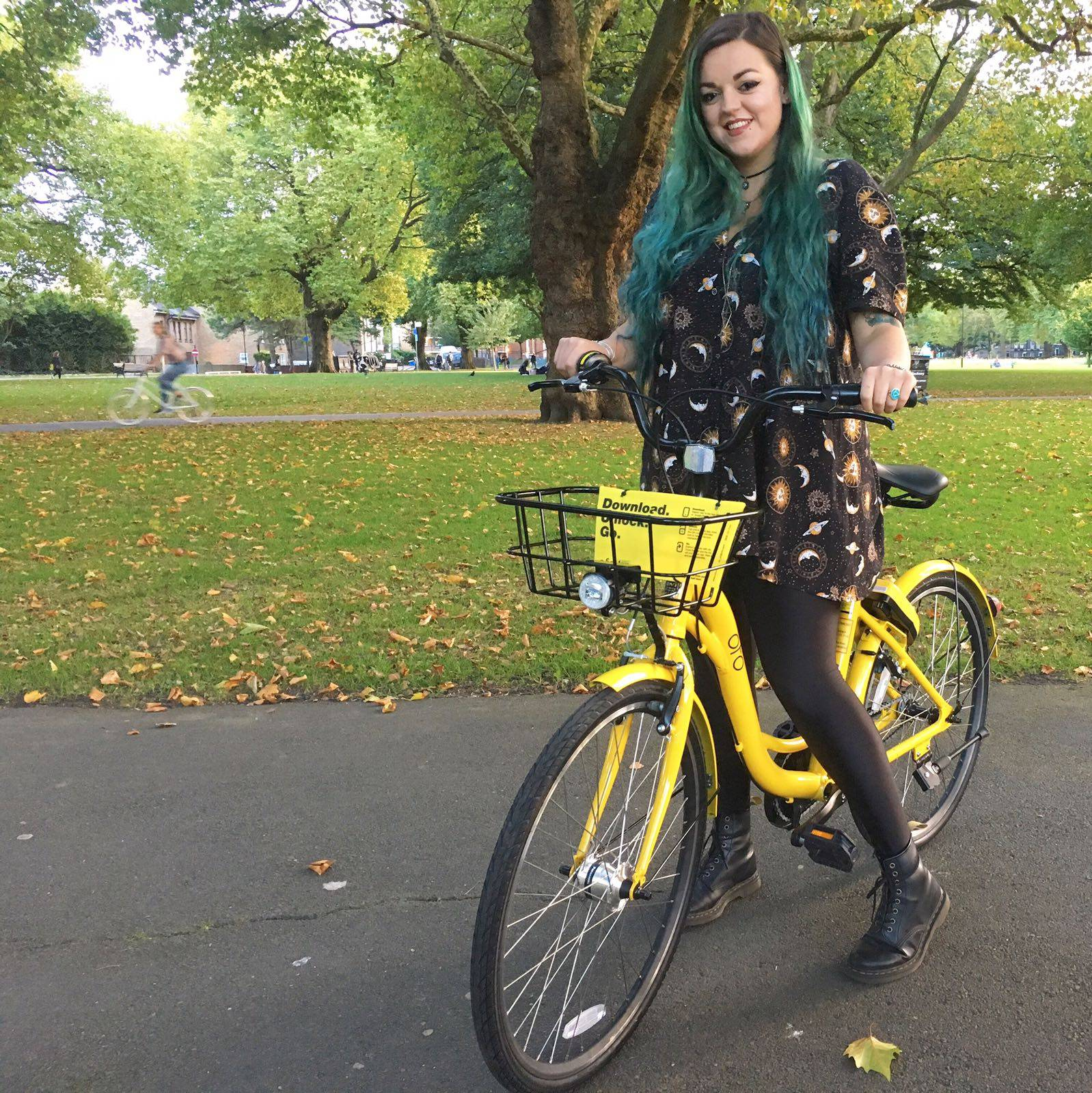 ofo bicycle bikes Hackney East London