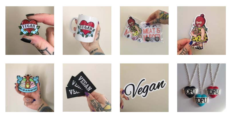 Vegan Gift Guide Christmas Last Minute All Glamour No GutsVegan Pin