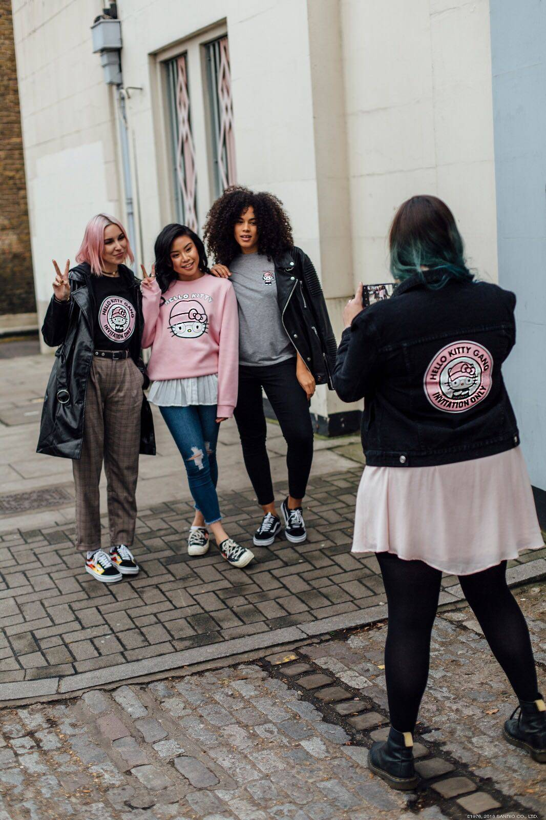 Hello Kitty Primark Model Hello Kitty Gang Cafe Miami Hackney Mermaid Hair