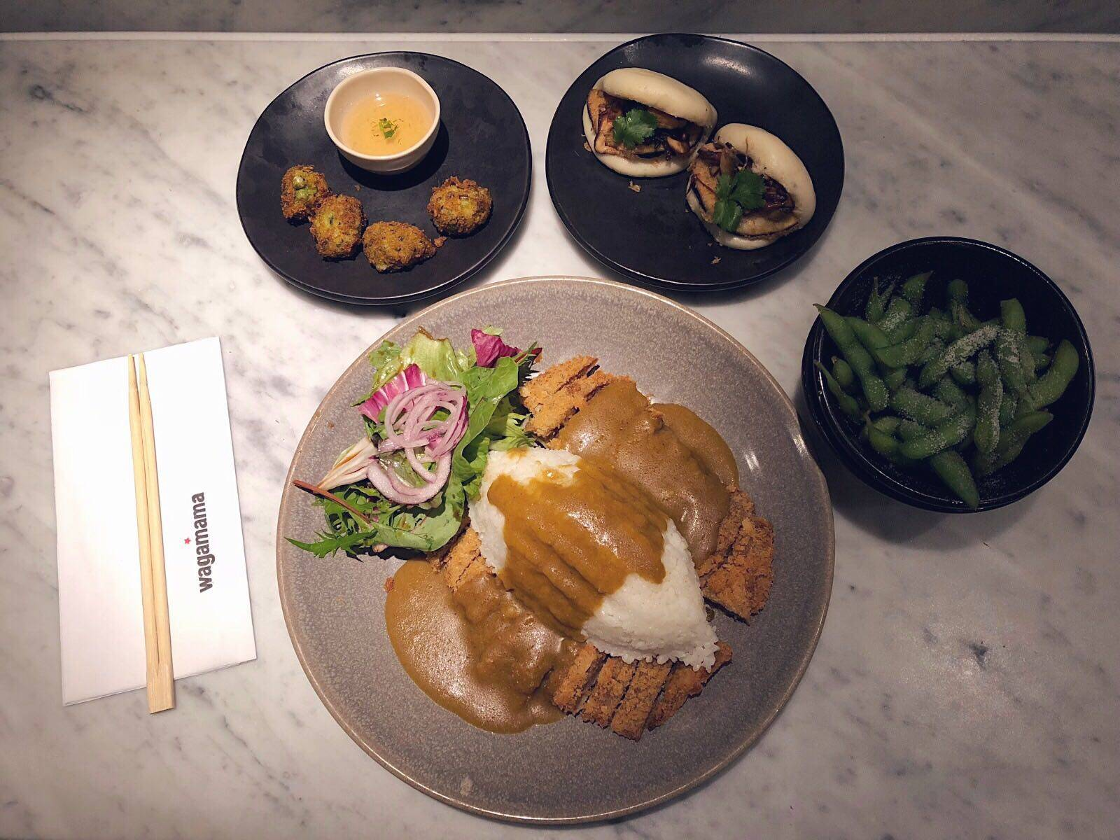 Wagamama Vegan Options Noodle Bar Dean Street Soho London Testing Menu