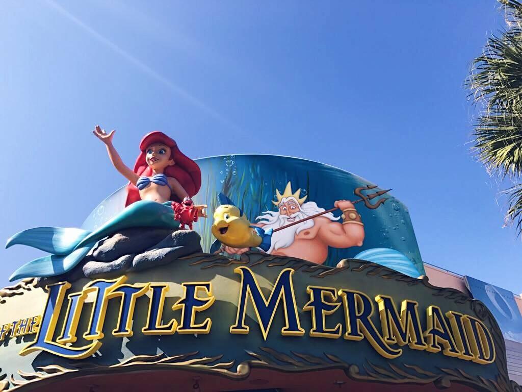 Walt Disney World Orlando Castle Magic Kingdom Little Mermaid
