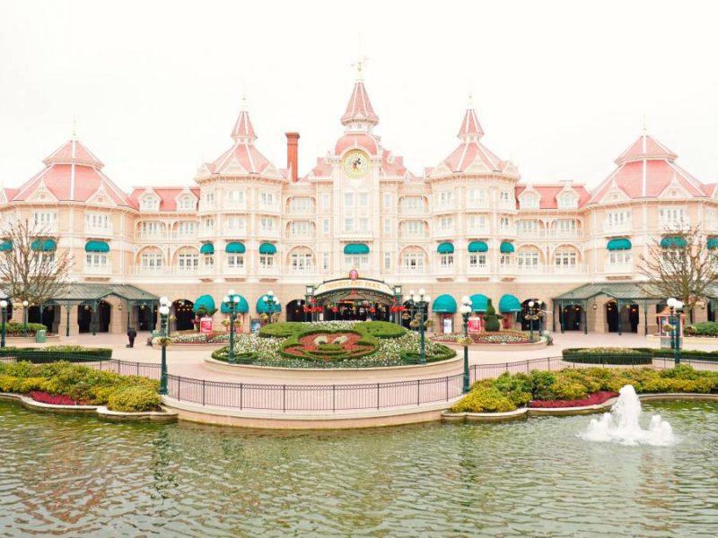 Disneyland Paris France Entrance Mickey Mouse