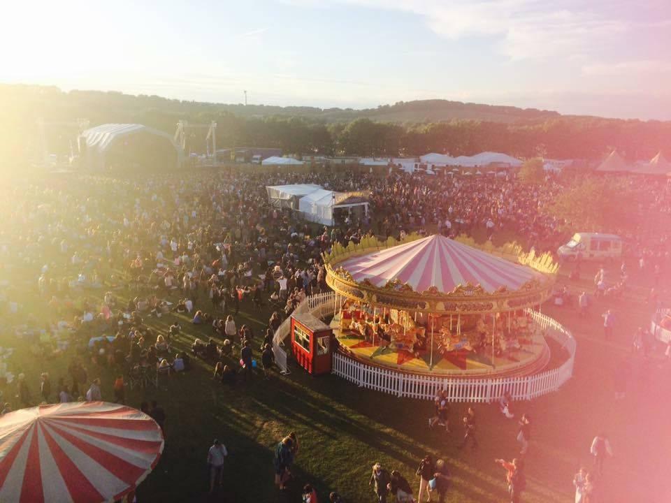 Summer Festival UK Light Leak Love