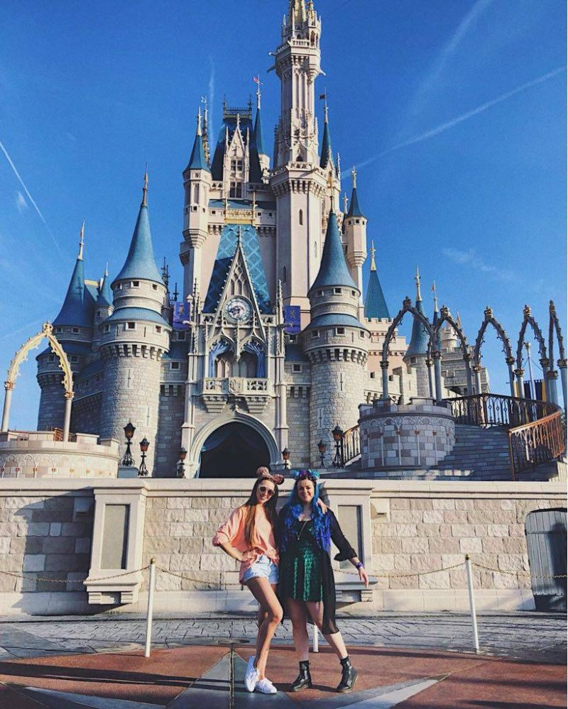 Disney World Florida Magic Kingdom Cinderella Castle
